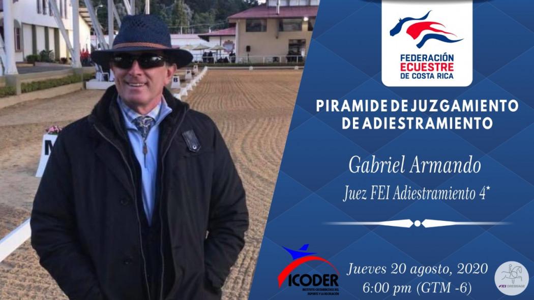 """Charla Virtual: """"Pirámide de Juzgamiento de Adiestramiento"""" - Gabriel Armando (ARG)"""