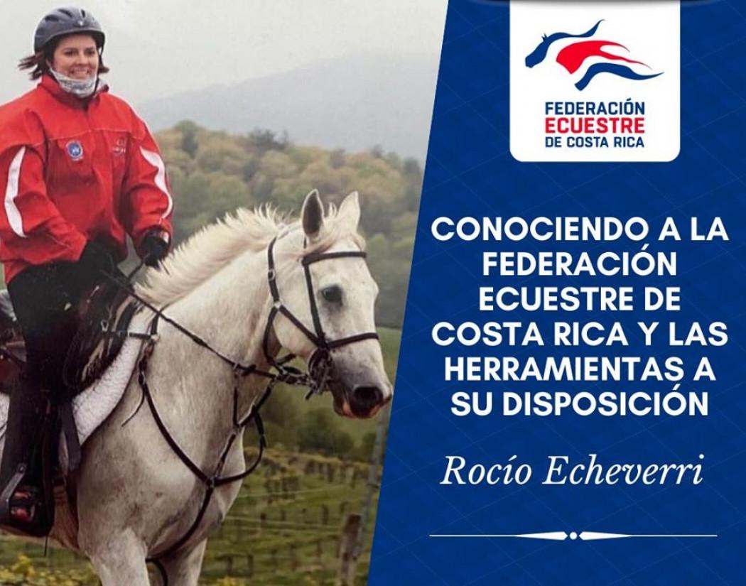"""Video: """"Conociendo a la Federación Ecuestre de Costa Rica y las Herramientas a su Disposición"""" - Rocío Echeverri"""