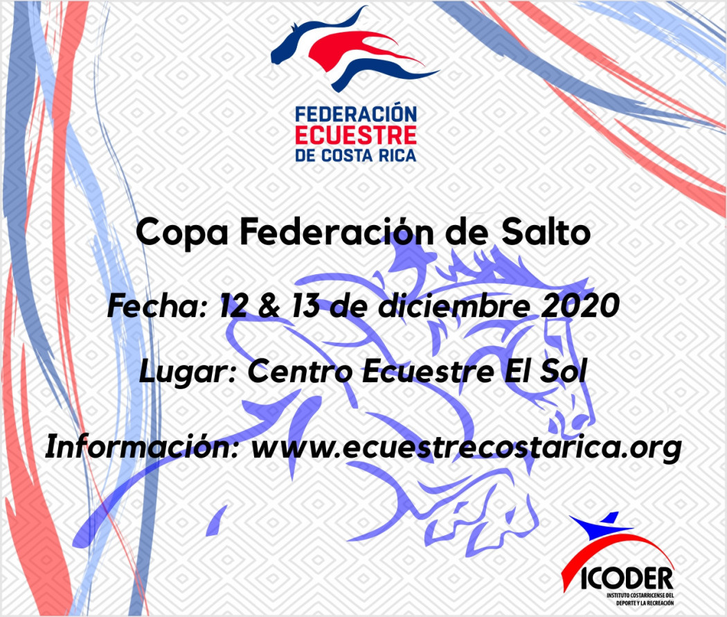 Orden de Entrada Copa Federación de Salto
