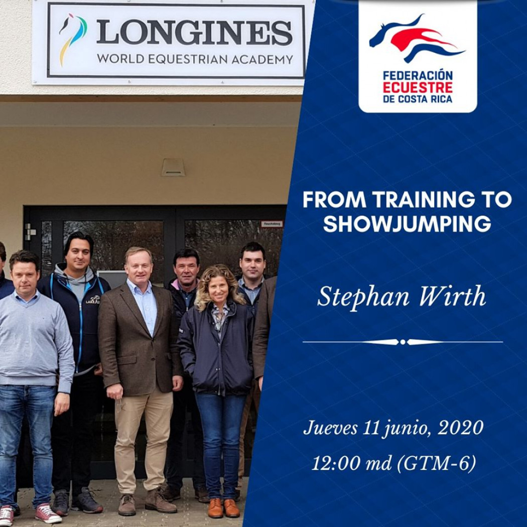 "Video Charla Virtual: ""From Training To Showjumping"" - Stephan Wirth (Ger)"
