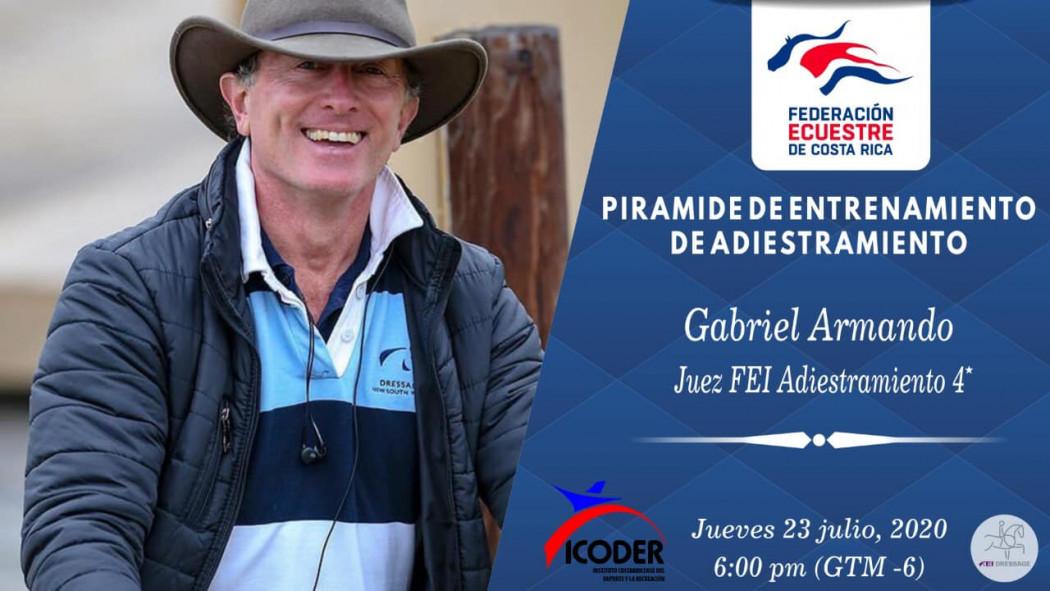 """Video Charla Virtual: """"Pirámide de Entrenamiento de Adiestramiento"""" - Gabriel Armando (ARG)"""