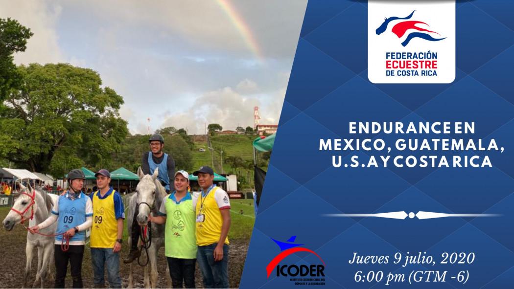 """Charla Virtual: """"Endurance en México, Guatemala, U.S.A y Costa Rica. Recuerdos de la Copa de Naciones"""""""