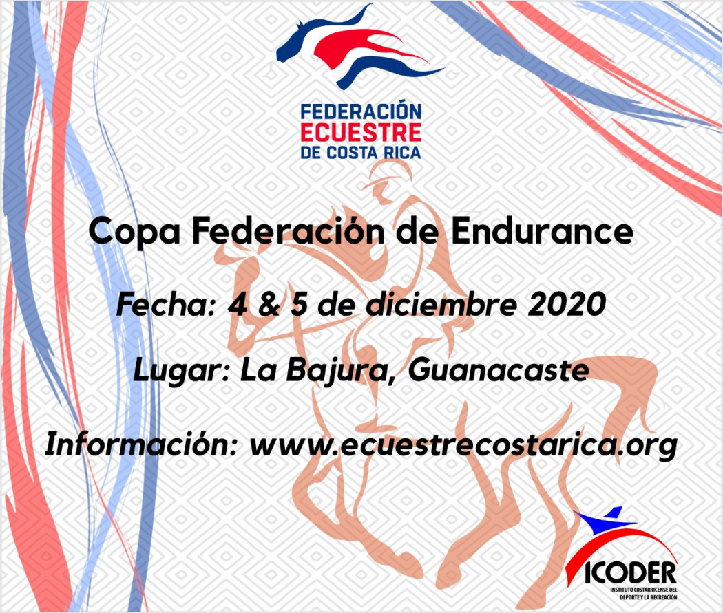 Bases Técnicas para la Copa Federación de Resistencia Ecuestre