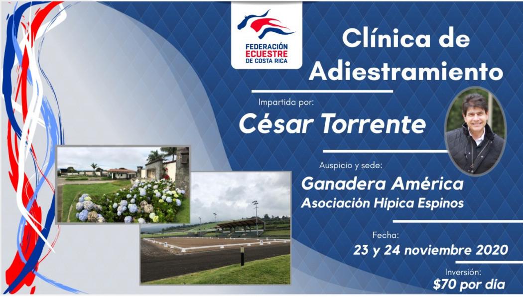 Clínica de Adiestramiento con César Torrente