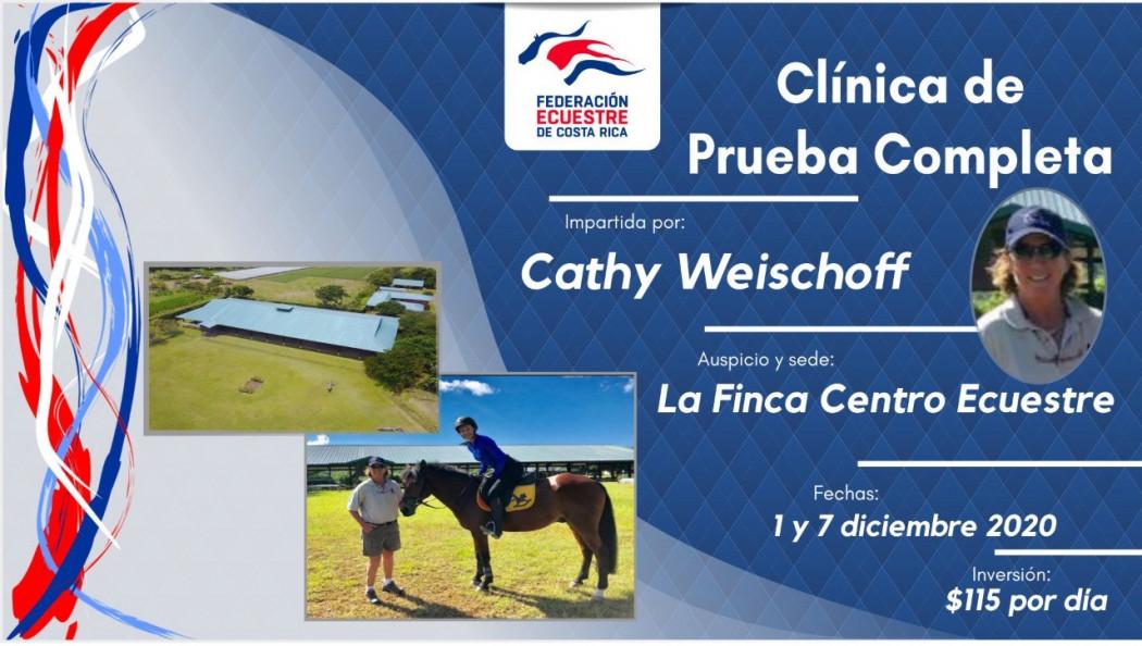 Clínica de Prueba Completa con Cathy Weischoff