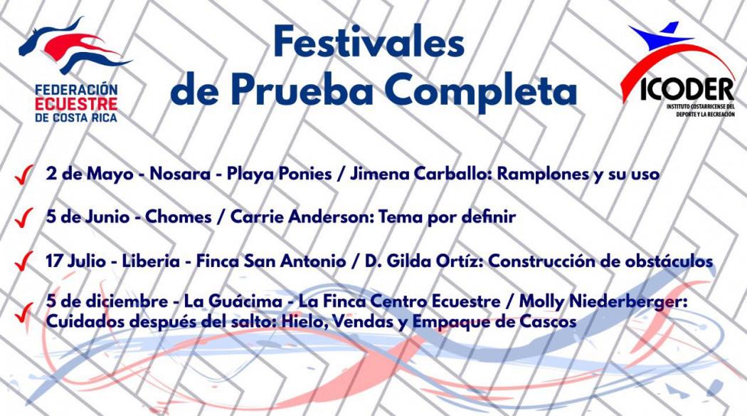 Festivales de Prueba Completa