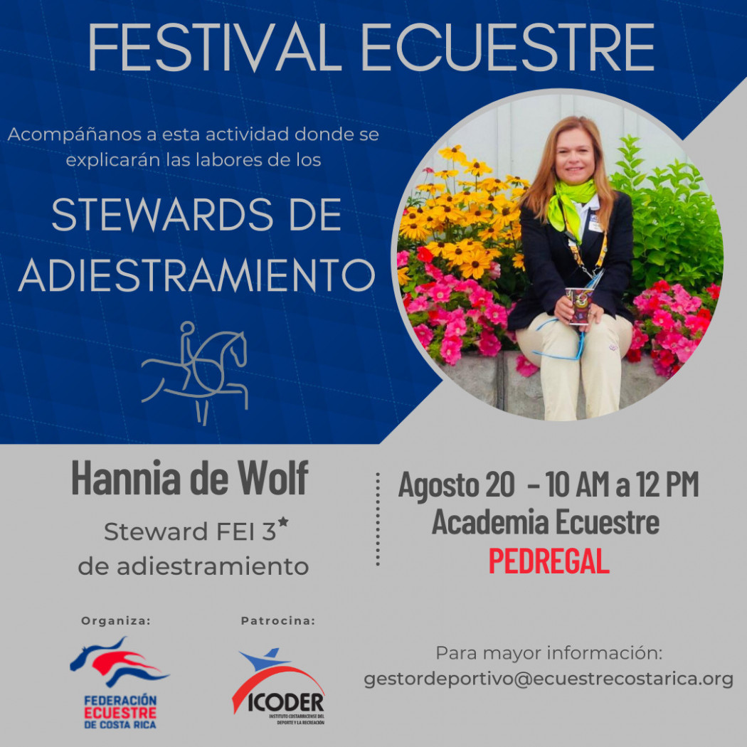 """Festival """"Stewards de Adiestramiento"""""""