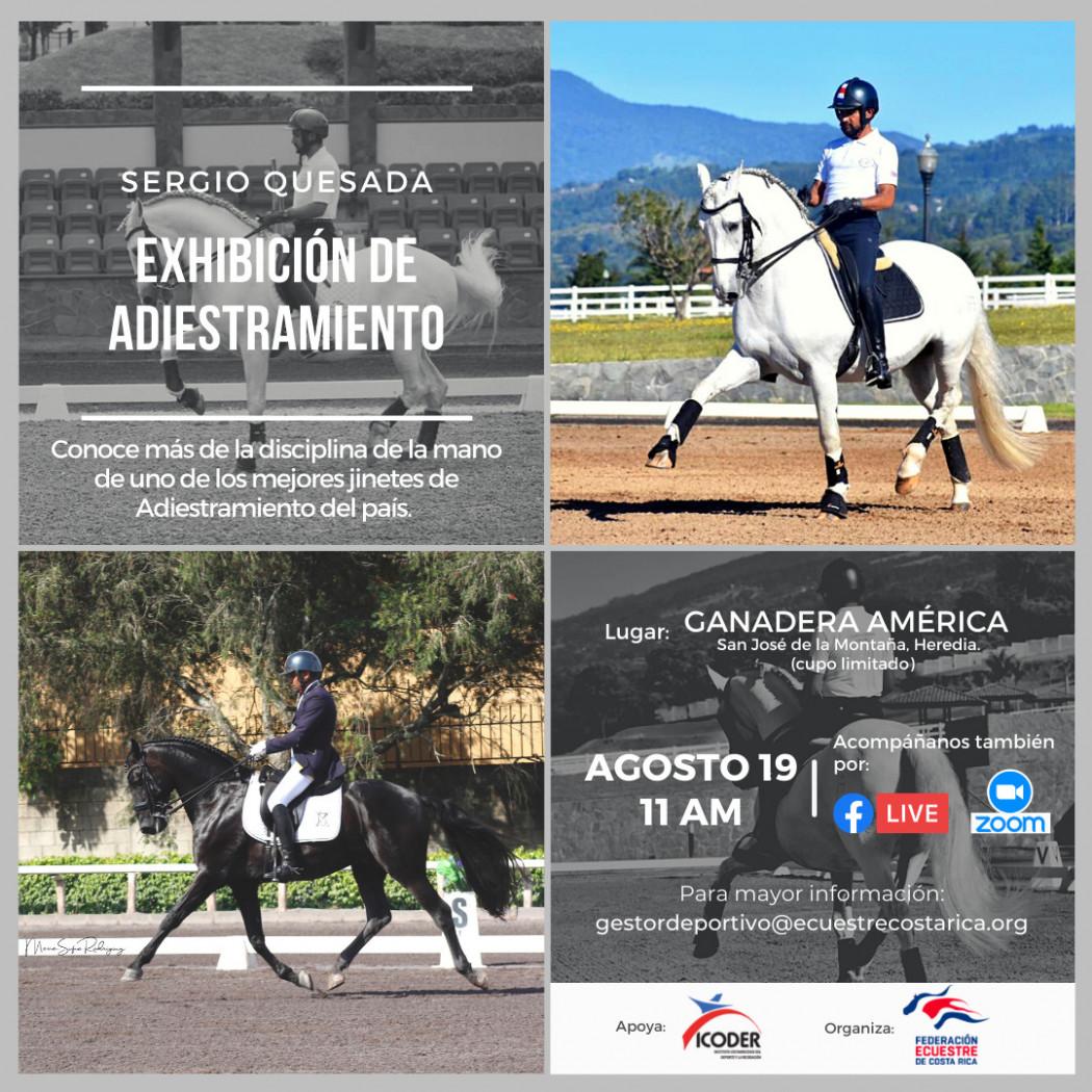 Exhibición de Adiestramiento con Sergio Quesada